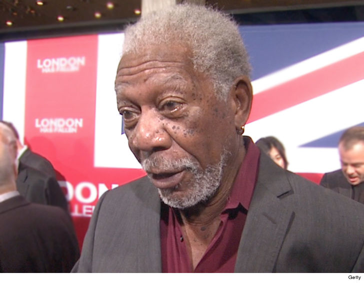 CNN fires back at Morgan Freeman over allegations