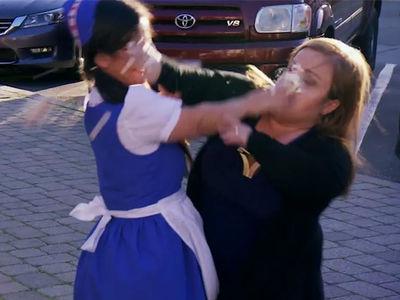 'Little Women: LA' Stars Get Into Pastry-Filled Food Fight