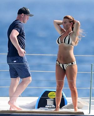 Wayne and Coleen Rooney -- Premier League in Barbados