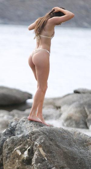 Jen Selter's Bikini Bod in Mykonos -- Greek Goddess