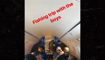 Ezekiel Elliott Takes His O-Line on Fishin' Trip In a Private Jet