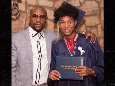 Floyd Mayweather Praises Son For Graduating High School, 'I Never Did'