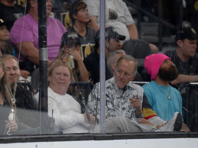 Oakland Raiders Owner Hits Golden Knights Game, Commitment to Vegascellence