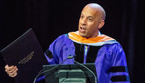 Vin Diesel Gets the Doctor Treatment at Hunter College Grad Ceremony