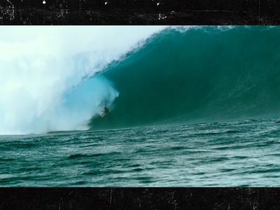 Crazy Video of Surfer Wiping Out on Historically Huge Wave