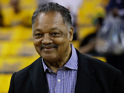 Rev. Jesse Jackson Feeling Good Enough to Attend NBA Finals!
