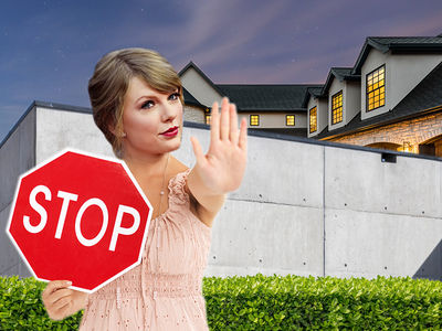 Taylor Swift's Building an Even Bigger Wall Around Bev Hills Home for Security