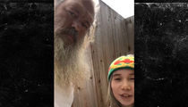 Lil Tay Hanging with Legendary Producer Rick Rubin