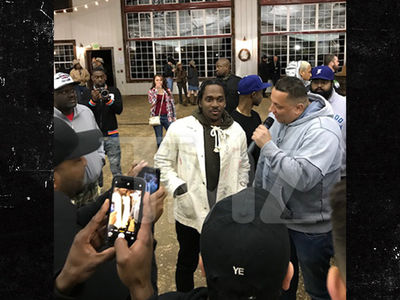 Pusha T Gets Mad Props for Drake Diss at Kanye Album Release