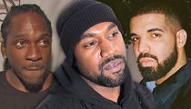 Kanye West Declares Beef Between Pusha T and Drake 'Dead'
