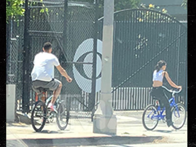 Kendall Jenner and Ben Simmons Go on a Bike Ride Date
