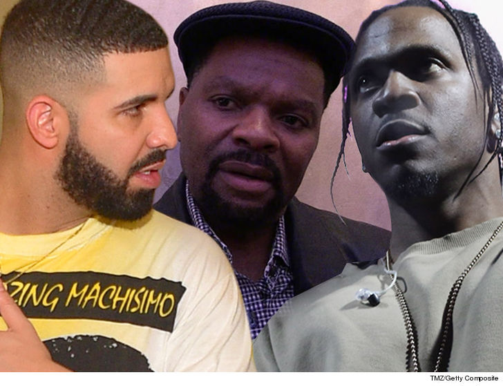J Prince to Drake Stand Down on Pusha T ... 'Can't Get in the Pig Pen'