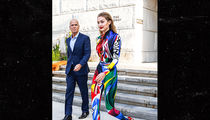 Gigi Hadid Wears a Rainbow-Colored Jumpsuit for CFDA Awards 2018