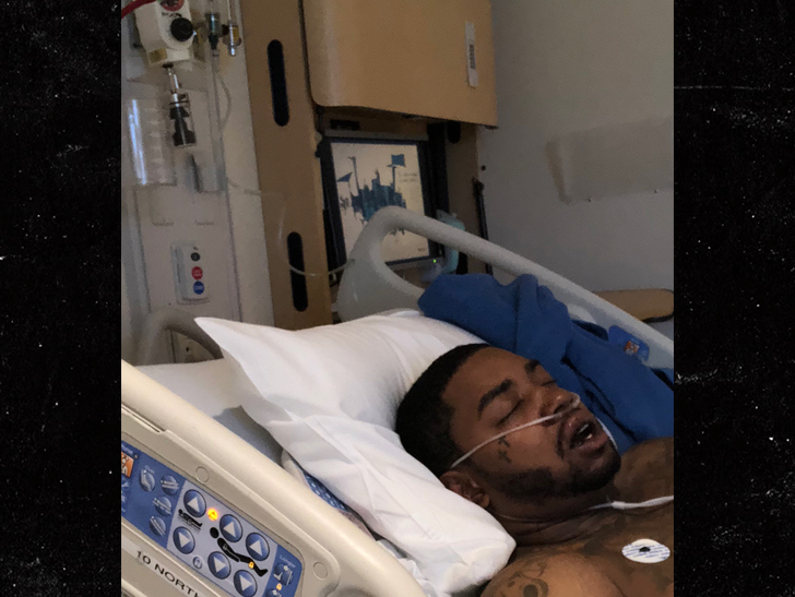 Lil Scrappy Hospitalized After Nasty Car Wreck ... Found Disoriented, Injured