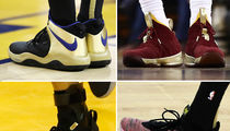 NBA Finals: Whose Kicks Are The Sickest??