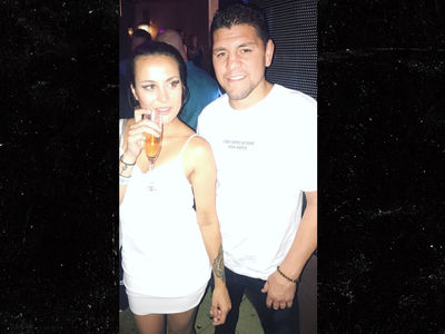Nick Diaz Out with New Chick After Domestic Violence Arrest