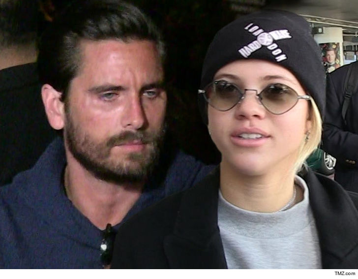 Scott Disick & Sofia Richie Step Out Together Again After Denying Breakup Rumors