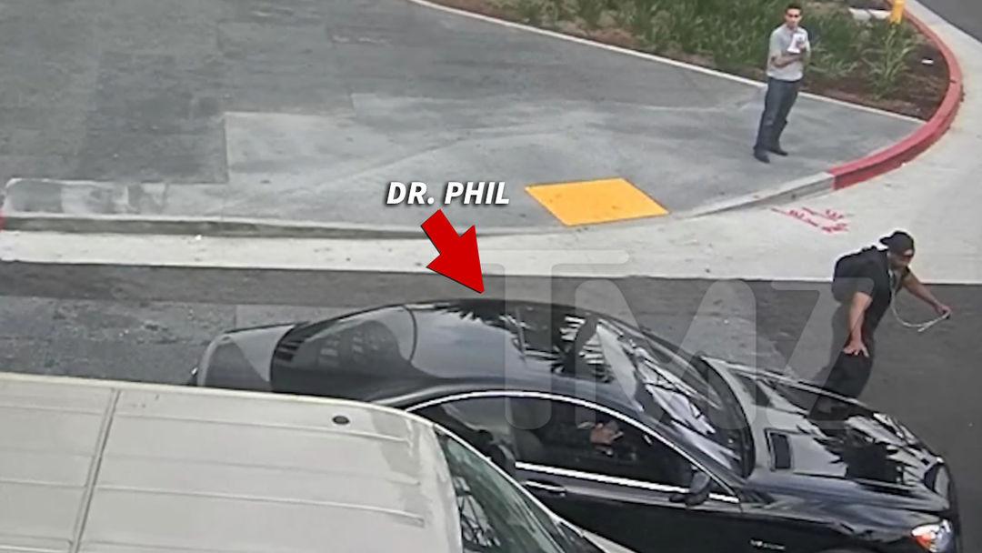 Dr. Phil Exonerated on Crash Surveillance Footage   TMZ.com