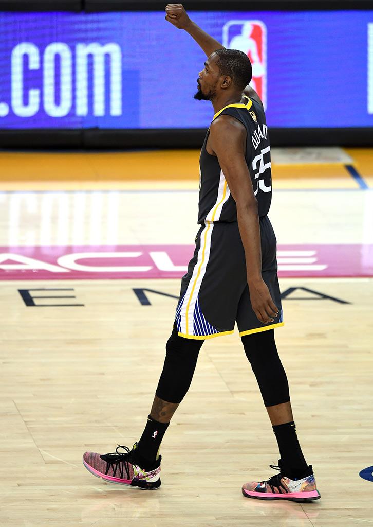 e86bfb4c8c7 2018 NBA Finals -- Whose Shoes !