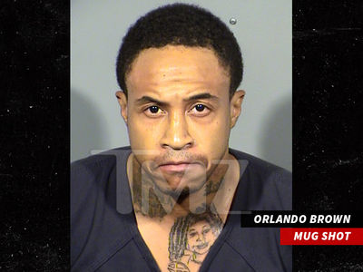 Orlando Brown Arrested in Vegas for Narcotics Possession, Raven Tattoo on Display