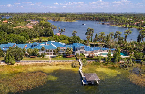 Shaquille O'Neal owned this Florida mansion