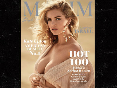 Kate Upton Scores Cover and No. 1 Spot on Maxim Hot 100
