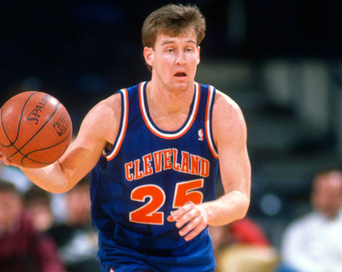 Mark Price spent almost all of his NBA career playing point guard for the Cleveland Cavaliers earning himself the title of NBA All-Star and is in the prestigious 50-40-90 Club (50% from the field, 40% from the three point line and 90% from the free throw line).