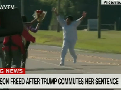 Emotional Moment Alice Marie Johnson Walked Out of Prison