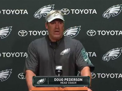 Eagles Coach Doug Pederson Was 'Looking Forward' to White House Visit