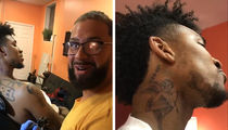 Nick Young Gets Neck Tattoo 24 Hours Before Game 3 of NBA Finals