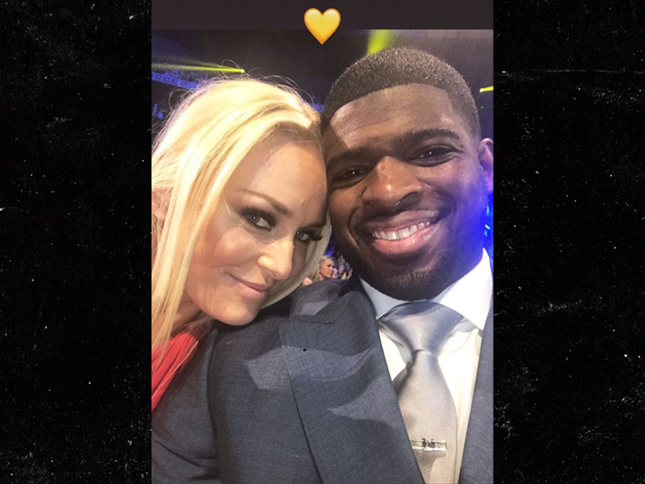 Lindsey Vonn and P.K. Subban made their relationship Instagram official