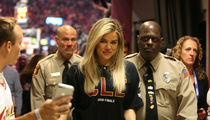 Khloe Kardashian Got VIP Treatment At Cavs Game To Support Tristan Thompson