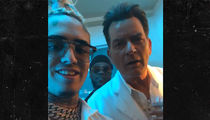 Lil Pump Recruits Charlie Sheen for Music Vid, Bust Down Watch Included