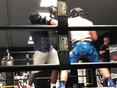 Logan Paul Brutalizes Opponent In Boxing Sparring Sesh