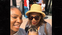Serena Williams is Not Too Injured for Disneyland!