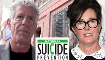 Anthony Bourdain, Kate Spade Suicides Spark Increased Calls to Suicide Prevention Hotline