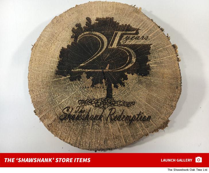 'Shawshank Redemption' Tree Will Commemorate Film's 25th Anniversary
