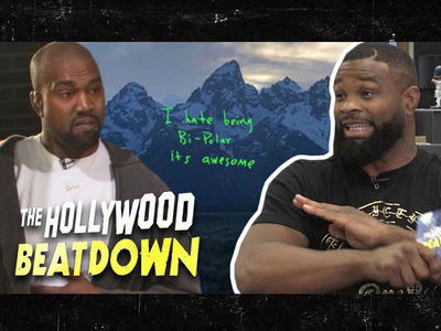 Tyron Woodley Says Kanye Finessed Everybody, Album Is Genius