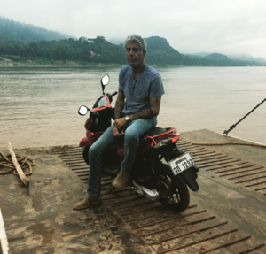 Anthony Bourdain Traveling The World
