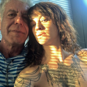 Anthony Bourdain and Asia Argento Together