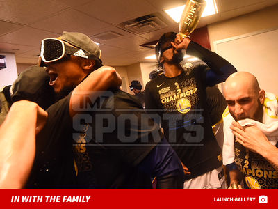 Warriors Celebrate NBA Championship with $400k Champagne Showers