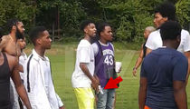 21 Savage Flashes Gun in Pool Party Fight