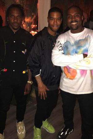Kanye West's 41st Birthday Party Pics