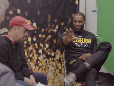 LeBron James Says Playing With Son Would Be Top NBA Achievement