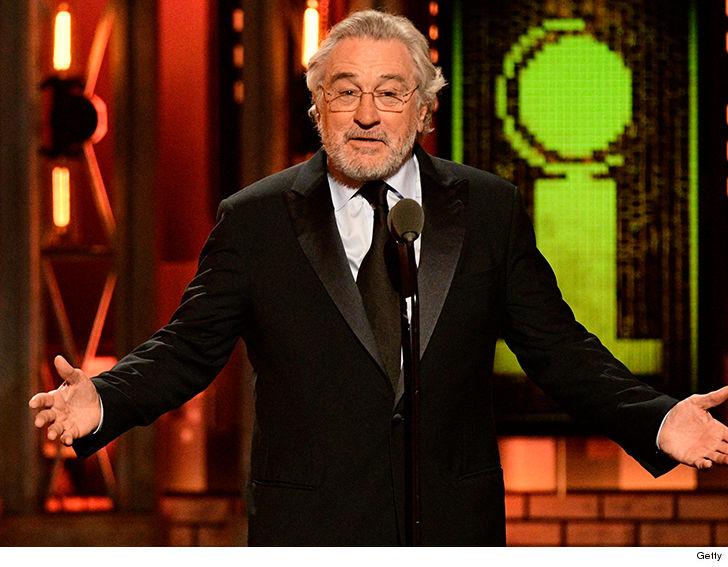 Robert De Niro Gets Bleeped Saying 'F*** Trump' at 2018 Tony Awards