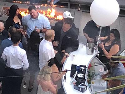 Vince Vaughn Drinking at Bar Before DUI Arrest