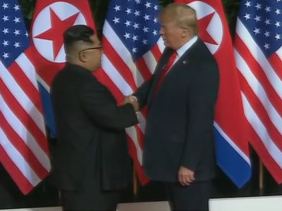 President Trump Takes the Reins in Historic Meeting with Kim Jong-un