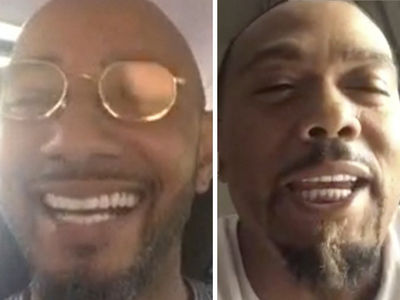 Swizz Beatz & Timbaland Say They're Taking Beat Battle on the Road