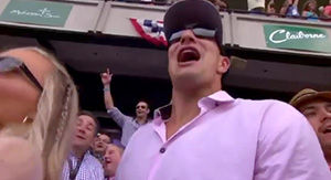 You'll Never Guess How Much Rob Gronkowski Bet (And Won) On His Horse