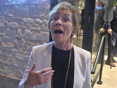 Judge Judy's Crossing Her Fingers After Trump / Kim Jong-un Summit